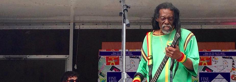 Lion Sandford... Jamaican Musician
