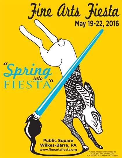 80419-Fine Arts Fiesta Poster-420